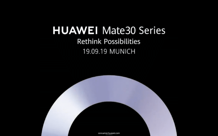 Huawei Mate 30 serisi tanıtım tarihini duyurdu